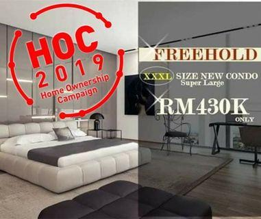 Most biggest & cheapest condo ever only 1335sqft for RM428k @ bukit Rahman putra