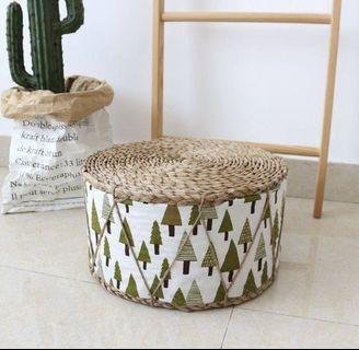 ✔️(in stock) Nordic forest Seagrass stool #amplifyjuly35