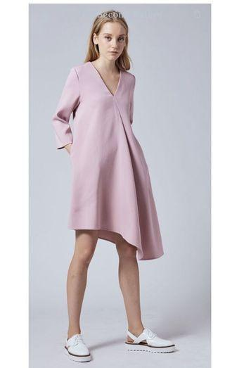 Our Second Nature - Asymmetrical Shift Dress