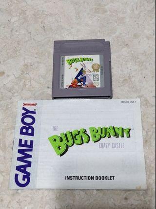 Bugs Bunny Crazy Castle 🇺🇲 GameBoy
