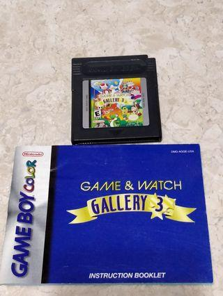 Game and Watch Gallery 3 🇺🇲 GameBoy