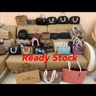 (15/07/19)Ready Stock Authentic coach women sling bag backpack crossbody handbag 👜 wallet purse belt bag backpack