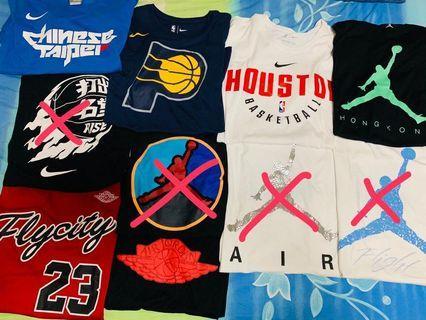 Jordan Nike NBA 二手Tee