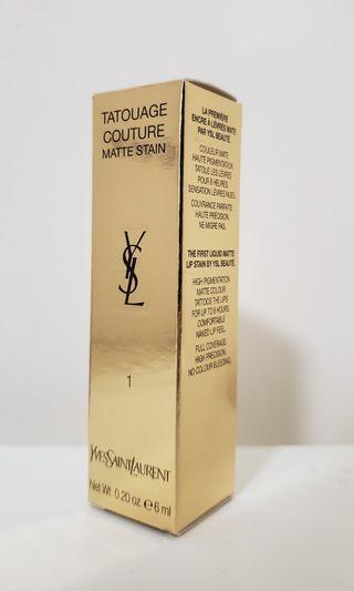 【YSL】 Tatouage Couture Matte Stain # 1