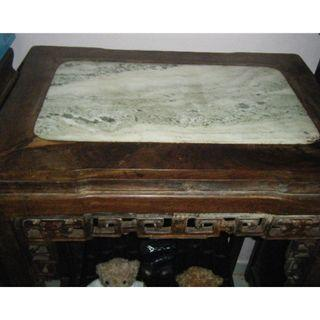 Pair of Antique Chinese Blackwood table