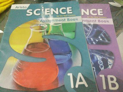 Aristo Science for the New Century Assignment Books 1A&1B