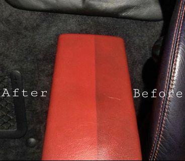 Car Interior Jet Steam Clean Detailing Service at North