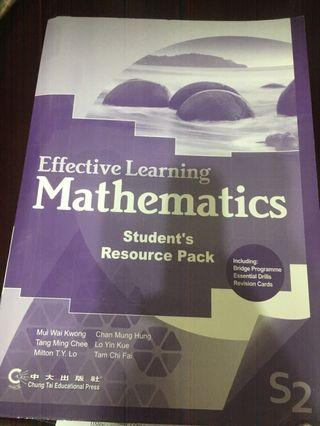 Effective Learning Mathematics s2 Resources Pack