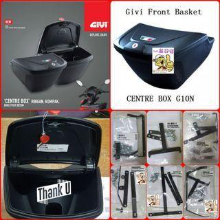 Givi Box, Givi Front Box G10N With Key Lock Type...Yamaha Sniper, Yamaha jupiter, Spark, Yamaha 125Z, Yamaha Sniper 150, Honda Wave Etc.