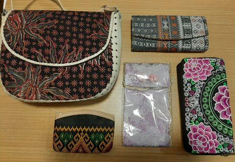 Women's Sling Bag, Wallets, Coin Purse, Phone Pouch