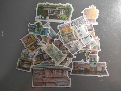 🚚 shophouse stickers