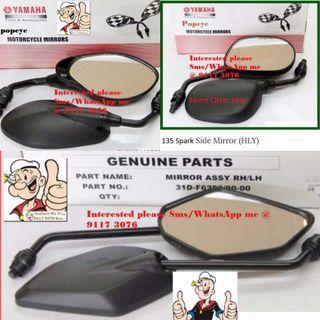 AUTHENTIC Yamaha side MIRROR accessories for sale