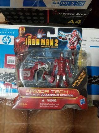 Hasbro Marvel Concept Series Iron Man Armor Tech Juggernaut Upgrade Avengers New Toys