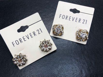 Forever 21 Earrings 2 pairs