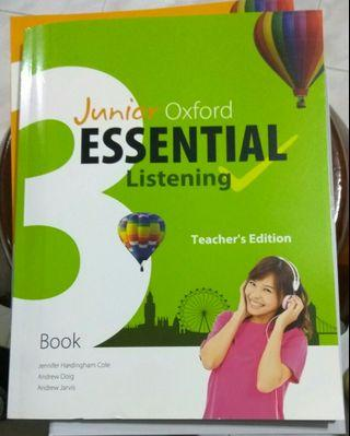 Essential listening + daya file book 3