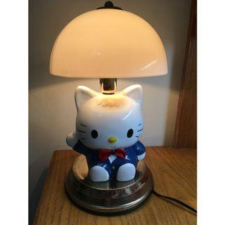 【專賣二手物】Hello Kitty卡通造型 觸控可調式檯燈
