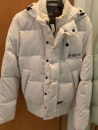 G-Star Raw White padded jacket