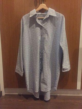 Long shirt no brand