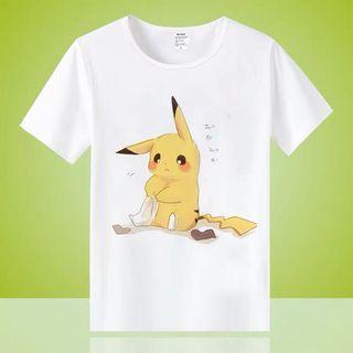🚚 Little Pikachu Family Wear - HGR541  Design: as attach photo  Adult Size: S, M, L, 2XL, 3XL  Kid size: 6,8,10,12,14,16  Measurement: as per attach photo