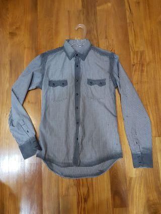 Zara Long Sleeve Shirt Kemeja Original