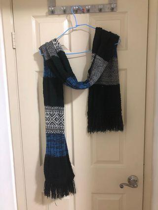 🚚 韓系-長版圍巾(厚棉)