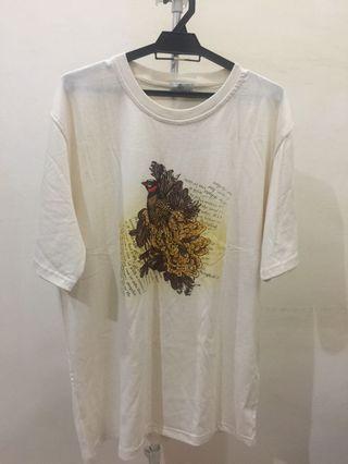 Pure cotton short sleeve T-shirt