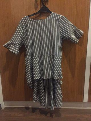 Mididress blouse