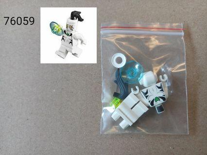 全新未砌 Lego 76059 Marvel Super Heroes Spiderman - White Tiger人仔 1隻
