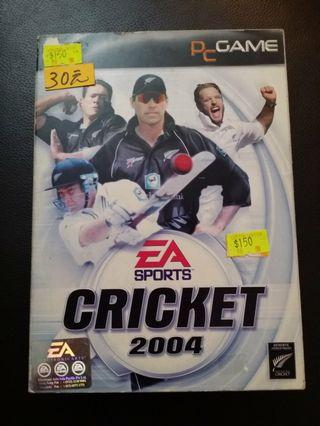 PC Game : Cricket 2004
