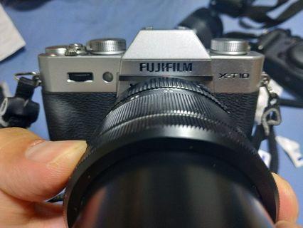 Fujifilm XT10 Silver with 18-55mm F2.8-4