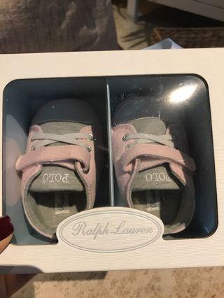 Ralph Lauren baby shoes size 2