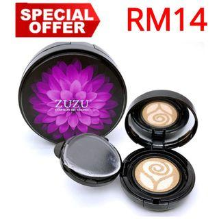 Double Color Crystal Nude Makeup Air Cushion BB Cream