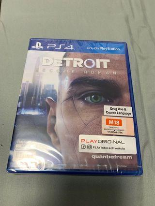 🚚 Detroit Become Human PS4