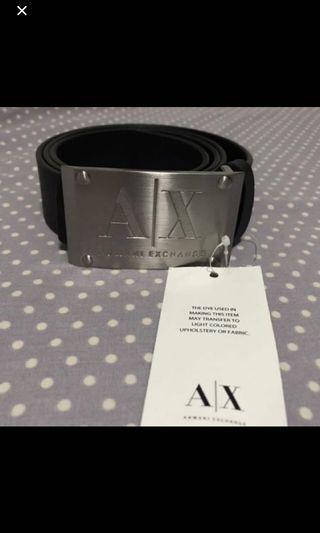 全新Armani Exchange 皮帶Belt