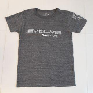 Evolve MMA Warrior Tee Shirt Grey #MRTPasirRis