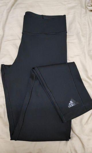 Adidas climate black tights size S