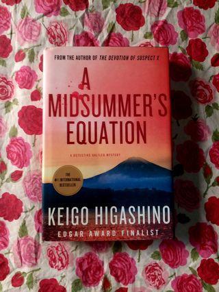 A Midsummer's Equation (HB, 1st Ed) by Keigo Higashino