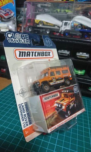 Matchbox_ Land rover defender