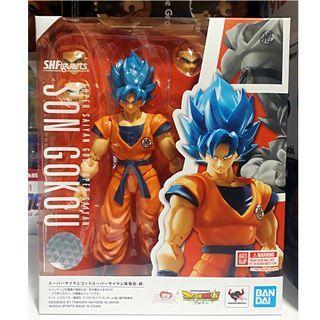 SH Figuarts SHF - Dragon Ball Super: Super Saiyan God Super Saiyan SSGSS Son Goku