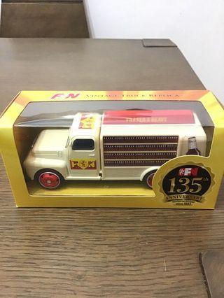 F&N Vintage Truck Figure Toy