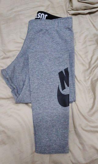 Nike gray pants size m