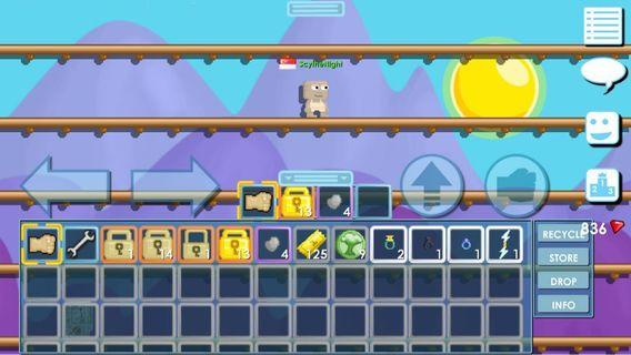 🚚 Rich Growtopia Account Zues Bolt , 4 Rings
