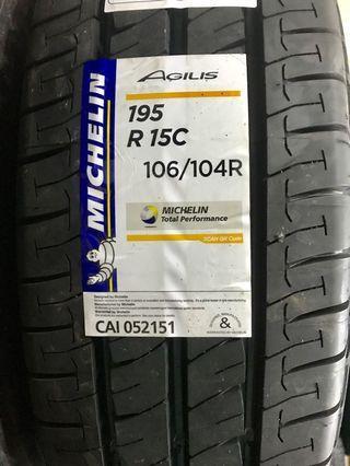 195R15C Michelin Agilis