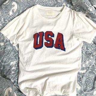 🚚 Cotton On Tbar USA logo T-shirt