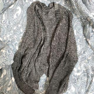 Soft Knitted Grey Cardigan