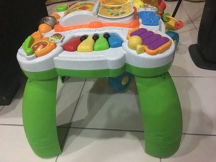 Leapfrog busy board activity table learning centre learn and groove musical table