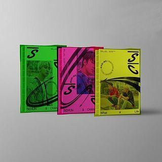 (PRE-ORDER) EXO-SC - What a life (1st Mini Album)