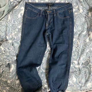 F21 Basic Straight Cut Jeans