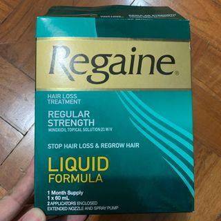 Regaine hair loss treatment