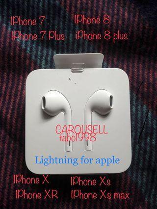 new iPhone Apple original 原裝正版耳機 耳筒earphone